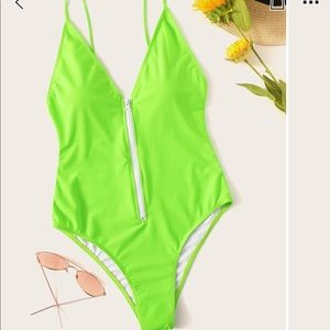 Neon Lime One Piece🍀